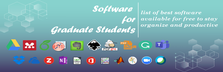 Software for graduates